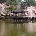 浮見堂と鷺池